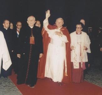 Saint Jean-Paul II à Montmartre en 1980