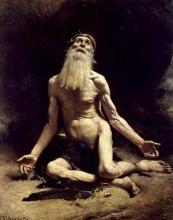 Job, tableau du peintre Léon Bonnat, 1880