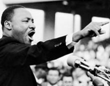 "Martin Luther King : ""J'ai un rêve"""