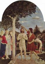 Le baptême de Jésus par Jean le Baptiste