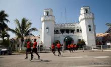 L'équipe de foot de la prison de Muntinlupa