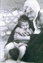 Grand-mère et enfant