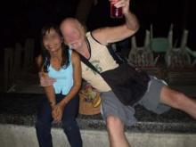 Thaïlandaise de 60 ans avec un client régulier