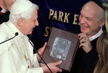 Le pape Benoît XVI et le rabbin Arthur Schneier