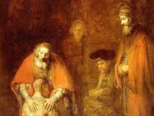 La jalousie du frère aîné qui n'a pas compris combien il est aimé (Rembrandt, Retour du Fils Prodigue)